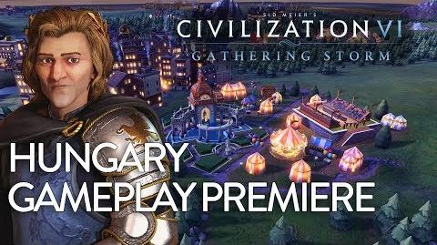 Civilization VI- Gathering Storm - Hungary Gameplay Premiere (Dev Livestream)