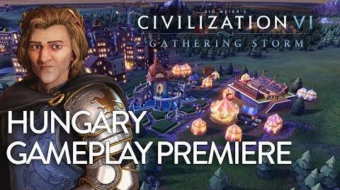 Civilization VI- Gathering Storm - Hungary Gameplay Premiere (Dev Livestream)