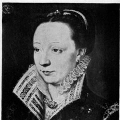 A painting of Catherine de Medici c. 1540 (which appears to have inspired her in-game model)