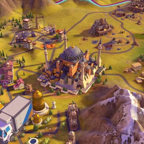 Hagia Sophia, as seen in-game