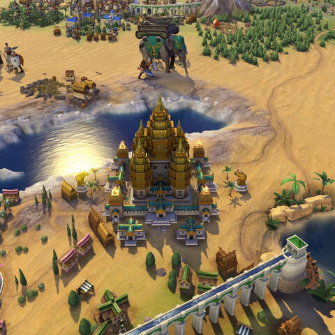 Angkor Wat in game