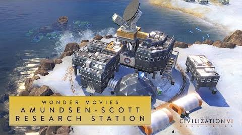 Civilization VI- Rise and Fall - Amundsen-Scott Research Station (Wonder Movies)