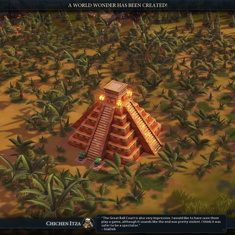 Chichen Itza completed