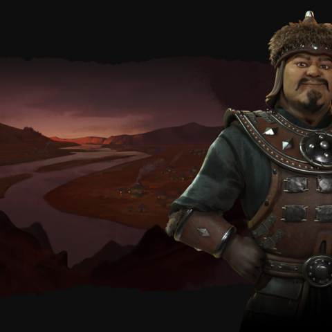 Promotional image of Genghis Khan
