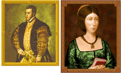Philip and Isabella (Civ2)