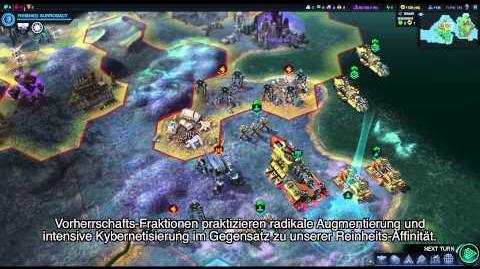"Offizielles Civilization Beyond Earth Gameplay Video – ""Master Control"""