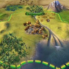 Brazilian capital in Ancient Era