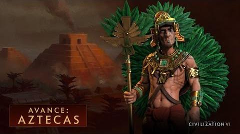 CIVILIZATION VI - Avance Aztecas