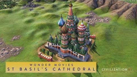 Civilization VI- Rise and Fall - St. Basil's Cathedral (Wonder Movies)