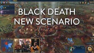 Civilization VI Gathering Storm - Black Death Scenario (Pre-Launch Livestream VOD)