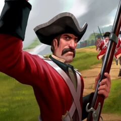 Redcoats seen in the Domination Victory movie