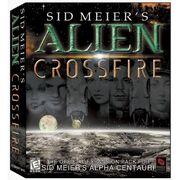 Alien Crossfire Cover