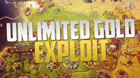 Video - Civilization 6 Unlimited Gold Exploit (Game-breaking