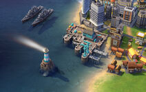 Civilization VI Screenshot Königliche Marine Dock