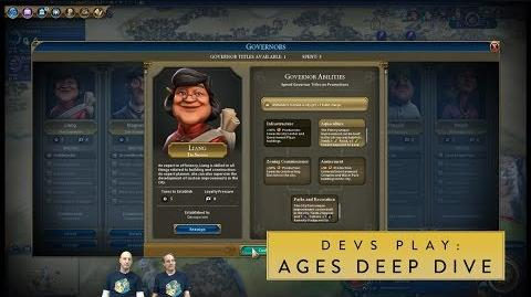 Civilization VI- Rise and Fall - Devs Play Mongolia & Netherlands (Ages Deep Dive)