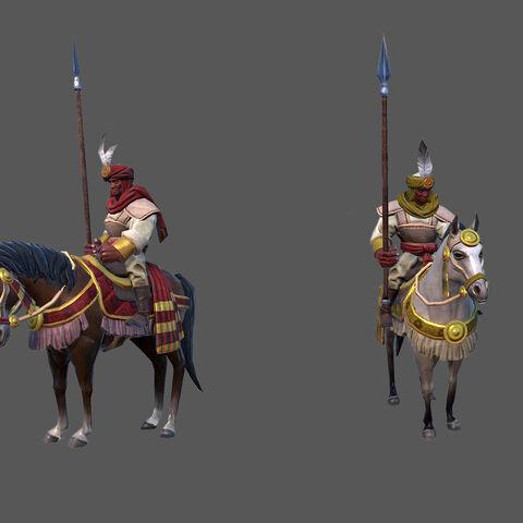 Mandekalu Cavalry concept art/render