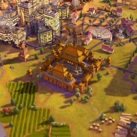 Forbidden City, as seen in-game