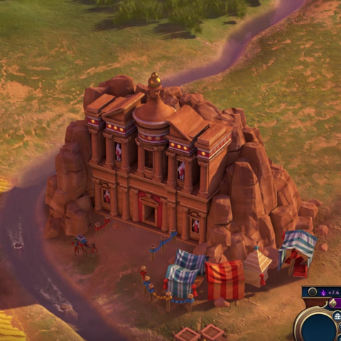 Petra, as seen in-game