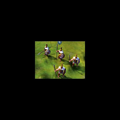 Hoplite in game