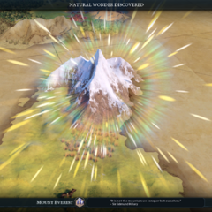 The Mount Everest intro cinematic