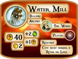 Water Mill Info Card (Civ5)