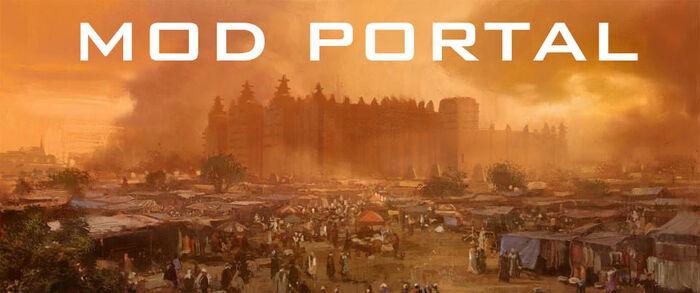 Mod portal banner