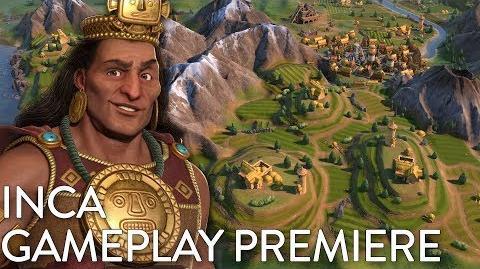 Civilization VI- Gathering Storm - Inca Gameplay Premiere (Dev Livestream)