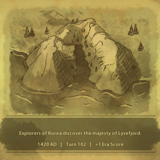 A civilization discovers Lysefjord
