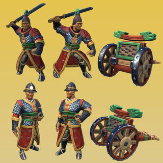 The Hwacha, Korea's unique unit