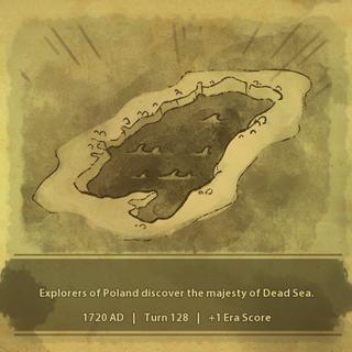 A civilization discovers the Dead Sea