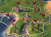 City under siege (Civ6)