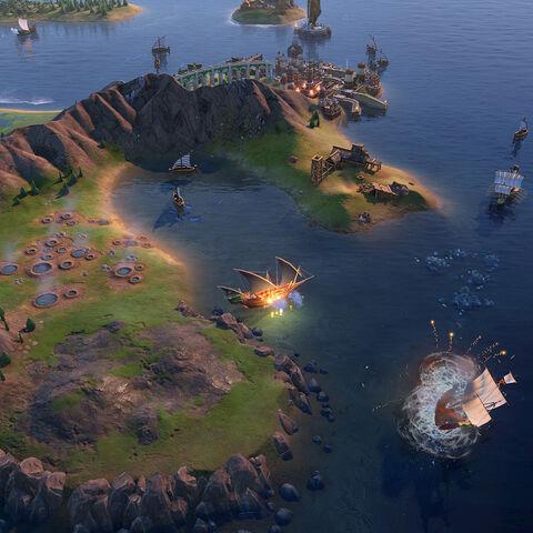Barbary Corsair in game