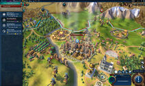 Civilization VI Screenshot Frankreich Spionage