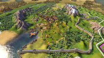 Civilization VI Screenshot Große Mauer