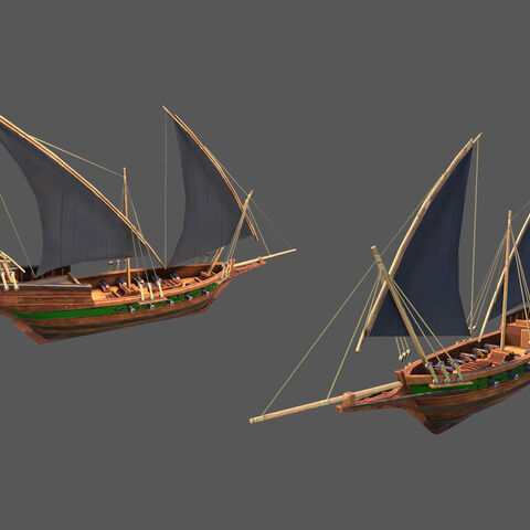 Barbary Corsair concept art/render