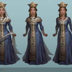 Concept art of Tamar by <a href=