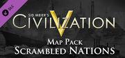 Scrambled Nations Map Pack DLC (Civ5)