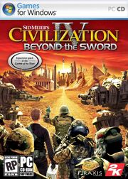Civ4 Beyond the Sword Cover