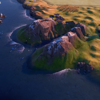 Lysefjord, as seen in-game