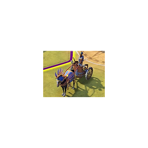Maryannu Chariot Archer in game