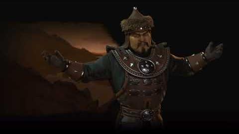 Civilization VI OST - Mongolia (Genghis Khan) - Medieval Theme - Rise & Fall Preview Theme