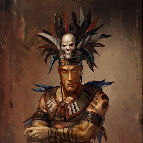 Concept art of Montezuma II