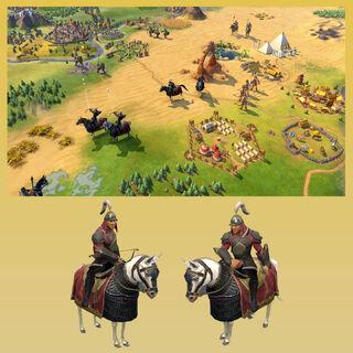 The Keshig, the Mongols' unique unit