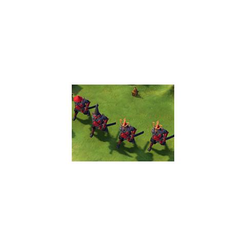 Samurai in game