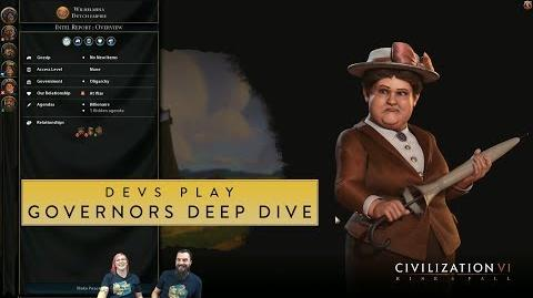 Civilization VI- Rise and Fall - Devs Play India (Governors Deep Dive)