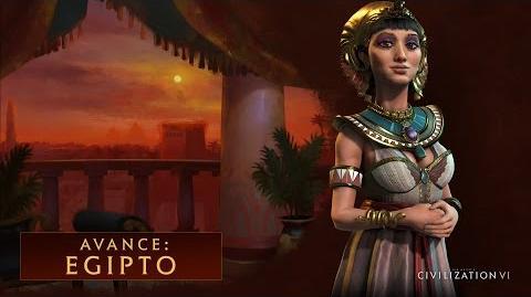 CIVILIZATION VI - Avance Egipto