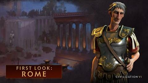 CIVILIZATION VI - First Look Rome - International Version (With Subtitles)