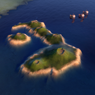The Galápagos Islands, as seen in-game