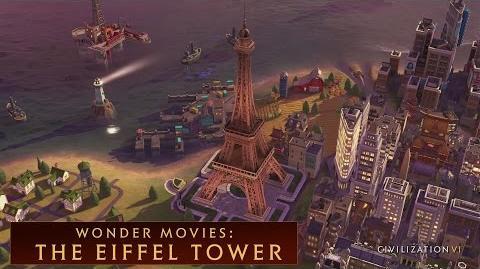 CIVILIZATION VI - The Eiffel Tower (Wonder Movies)