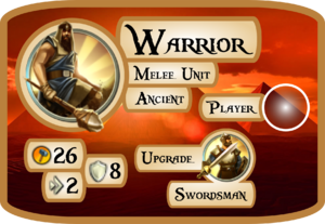 Warrior Info Card